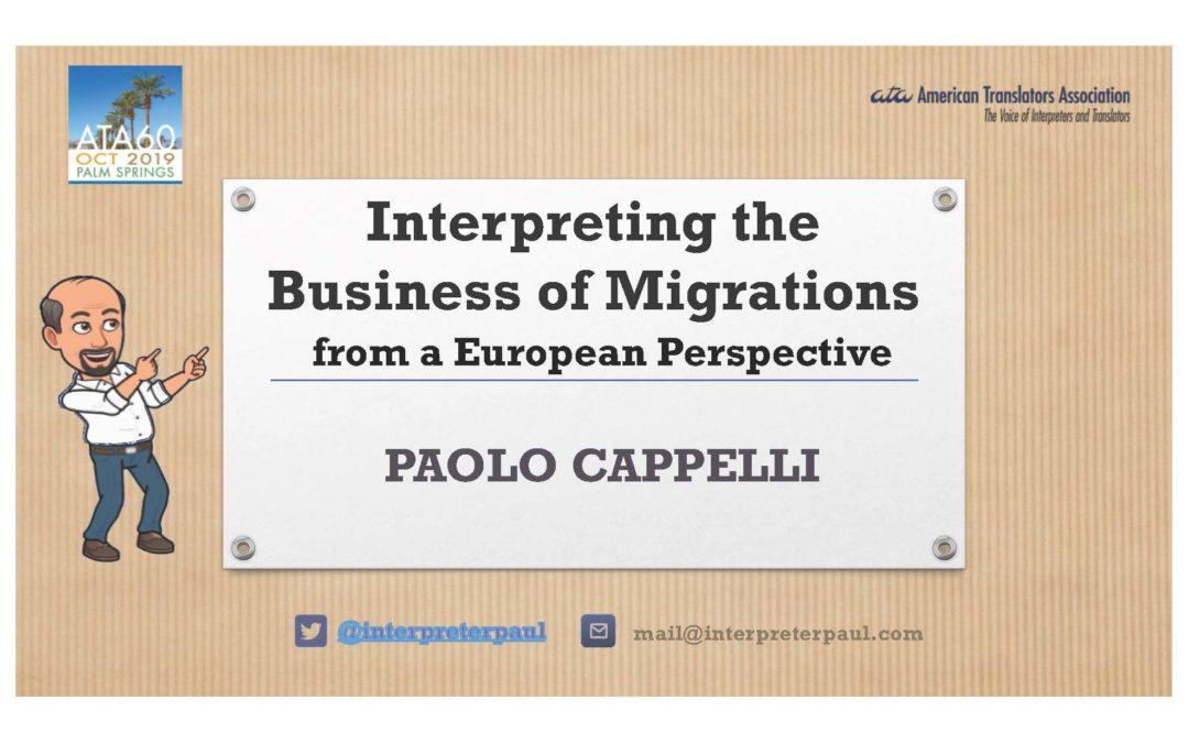 Interpreting the Business of Migrations